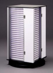 回転認印1000本  PLケース P-1000